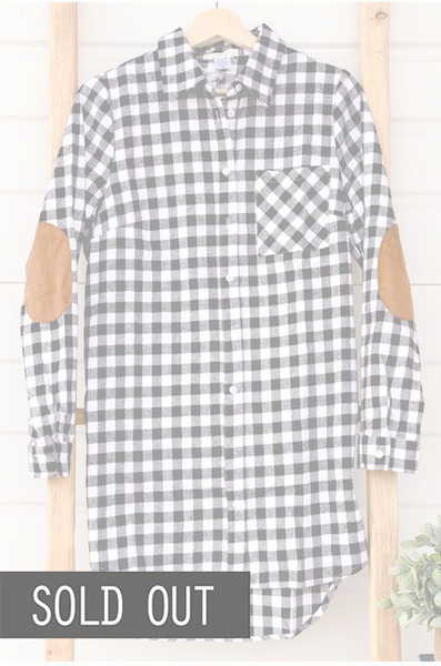 Willow Buffalo Plaid - White