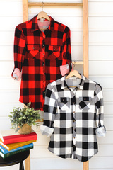 Sierra Plaid Button Up