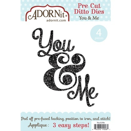 You & Me Applique