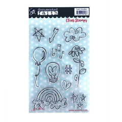 Faith Doodles Clear Stamp