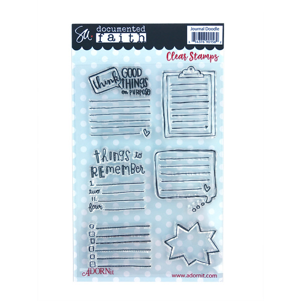 Journal Doodles Clear Stamp