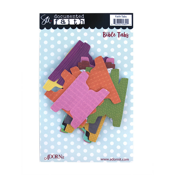 Faith Bible Tabs Die Cut Tabs