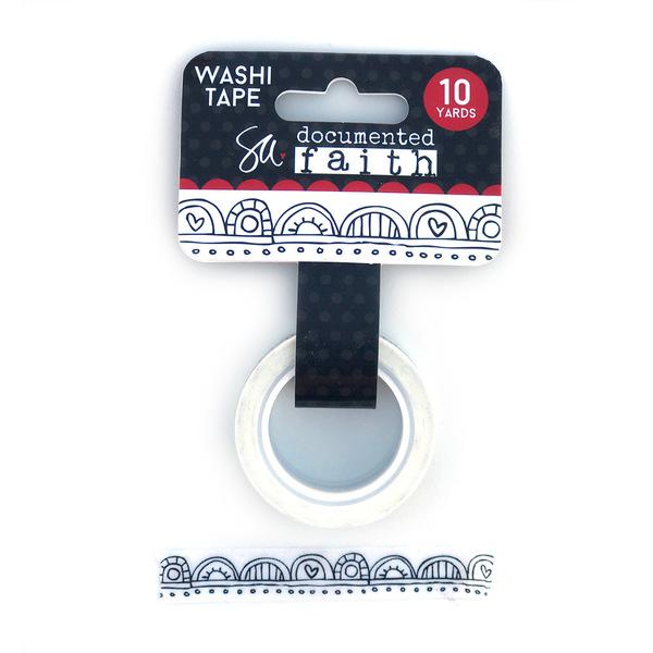 Doodle Scallops Washi Tape