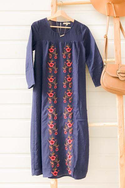 Chamberry Midi Dress