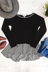 Paige Pinstripe Sweater
