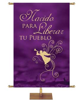 Advent Foil Banners in Spanish