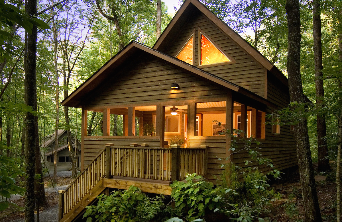 virginia log lodging cabins west county highland the visitor for