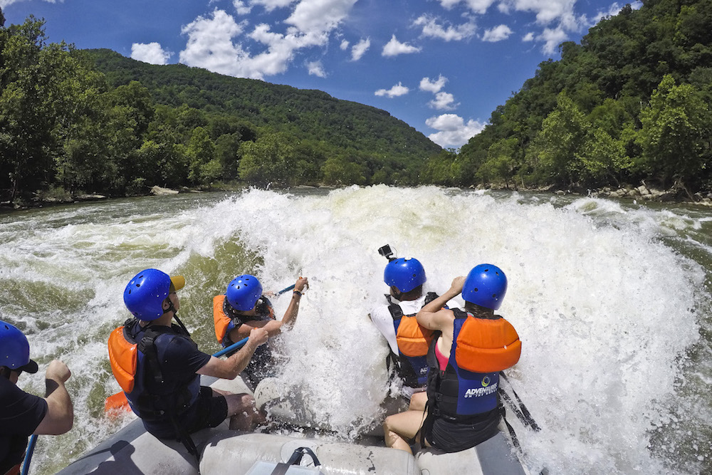 Lower New River White Water Rafting Adventures On The Gorge