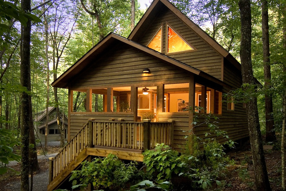 Lodging adventures on the gorge for Cabins west lodging