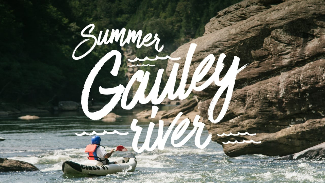 Summer Gauley Rafting