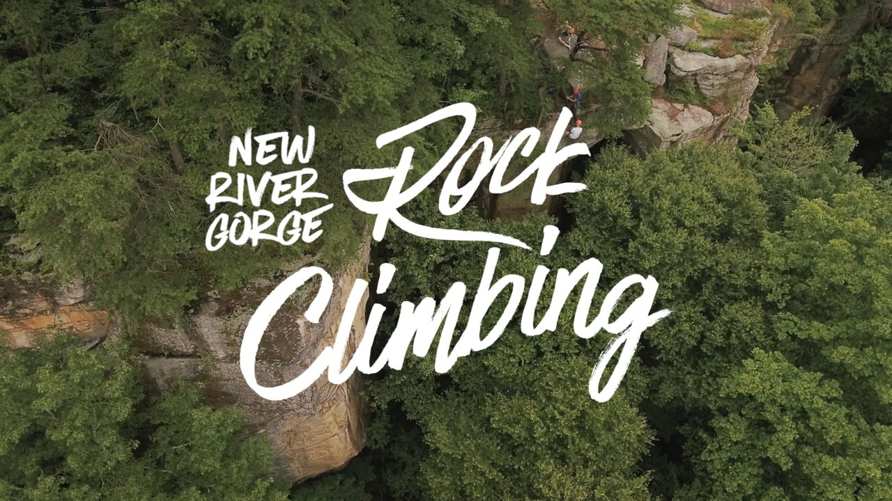 Rock Climbing in the New River Gorge