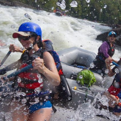 Fall Upper Gauley River White Water Rafting Adventures