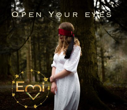 Open your eyes front cover