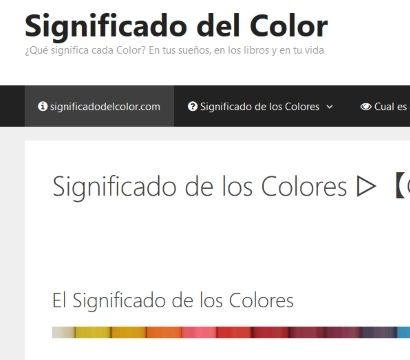 Significado del color