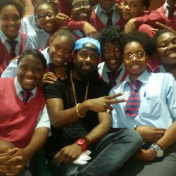 Lyrikal Visits Cedar Bridge Academy, Bermuda