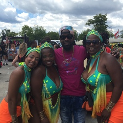 Lyrikal on the road with Toronto Revellers @ Caribana 2015