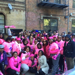 Lyrikal and Team Cloud 9 @ Making Strides of Brooklyn 2015