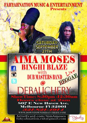 Aima Moses Live @ Debauchery
