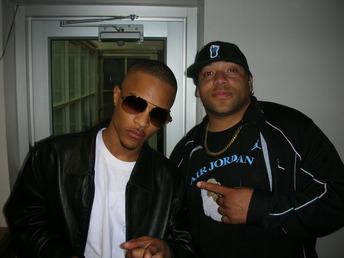 Me & T.I. after radio interview