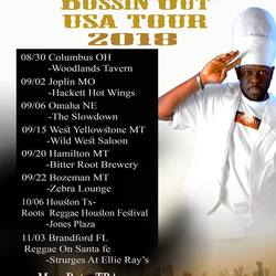 "AIMA MOSES & NDKA ""BOSSIN OUT""USA TOUR 2018"
