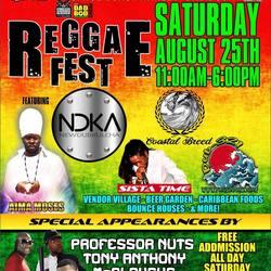 Space coast Reggae Fest August 25th 2018