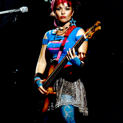 Melanie Delorean- Bass, Keys, Drums, Vocals (Pat Benatar, Joan Jett, Journey, Bonnie Tyler)
