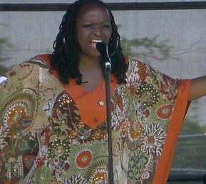 Performing at the Concord Pavilion 2008 Stone Soul Picnic