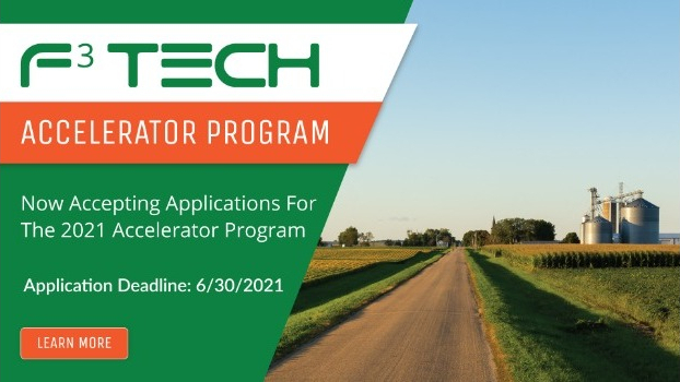 F3 Tech Opens Applications for Accelerator Program Focusing on AgTech, Aquaculture and Energy Storage Sectors