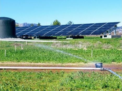 Solar Pumping System at Full Belly Farm