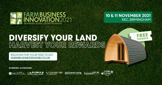 The Farm Business Innovation Show is back and promises to deliver incredible features and exclusive opportunities to help diversify and boost your revenue