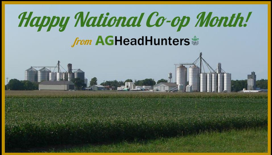 HAPPY NATIONAL CO-OP MONTH!
