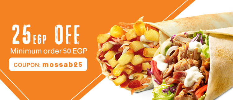 Coupon from Mossab - Cairo