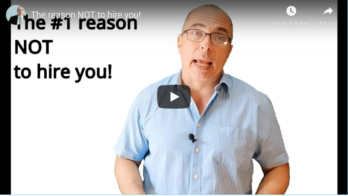 The Nr.1 reason not to hire you!