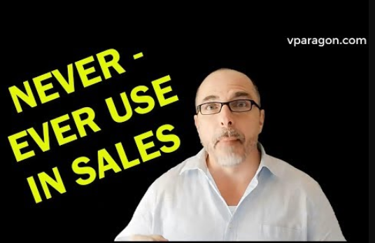 Words to use and not to use in sales