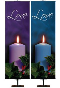 Advent Candle Photo Banners