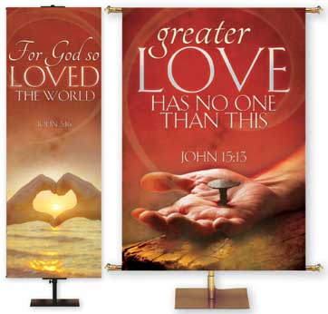 Expressions of Love Christian Banners for Church