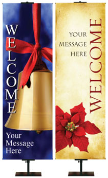 Christmas Welcome Banners