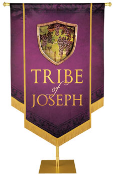 Tribes of Israel Banners in easy-to-make kits!
