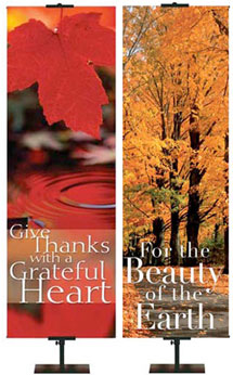 Creation Fall & Thanksgiving Banners