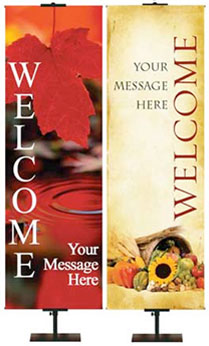 Fall & Thanksgiving Welcome Banners
