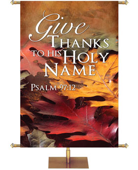 Contemporary Fall & Thanksgiving Banners