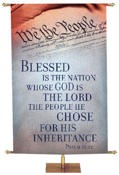 God & Country Banners On Sale