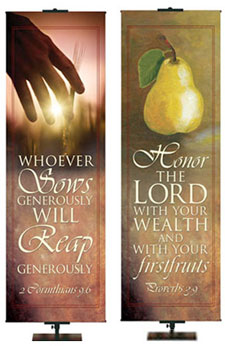 Tithing and Giving Banners
