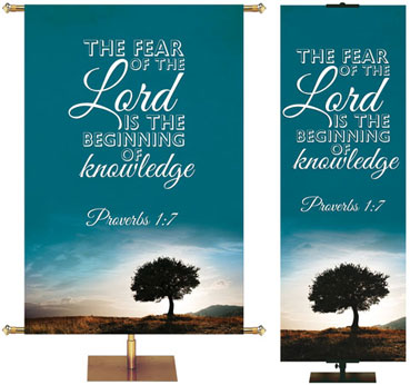 Words of Wisdom Banners from PraiseBanners