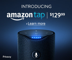 Go to Amazon Tap!
