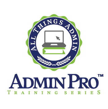 AdminPro Training Series