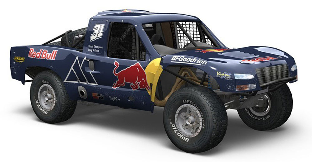 Redbull Baja 1000 trophy truck - Awesome!