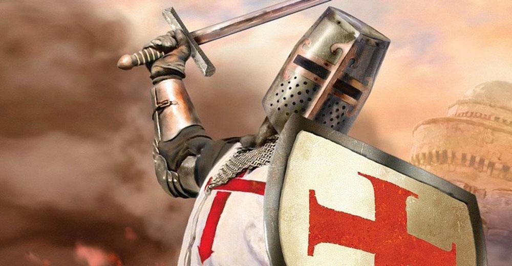 Templar Knight in combat