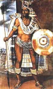 portrait of montezuma
