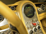 close up of the Spyker D12 dashboard